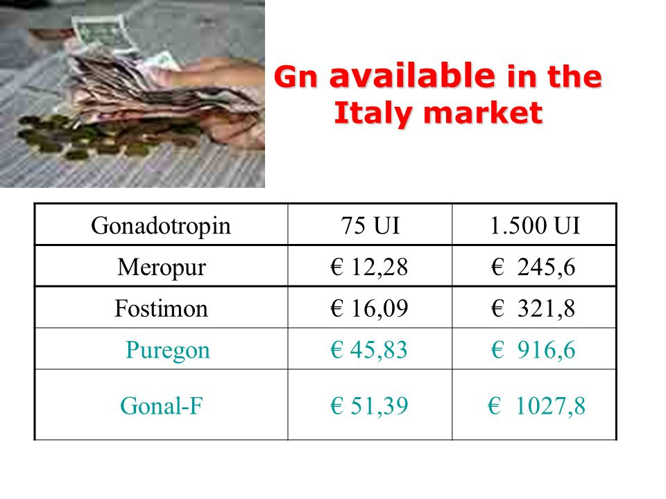 Gn available in the Italy market
