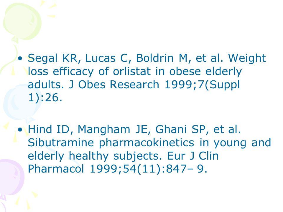 Segal KR, Lucas C, Boldrin M, et al