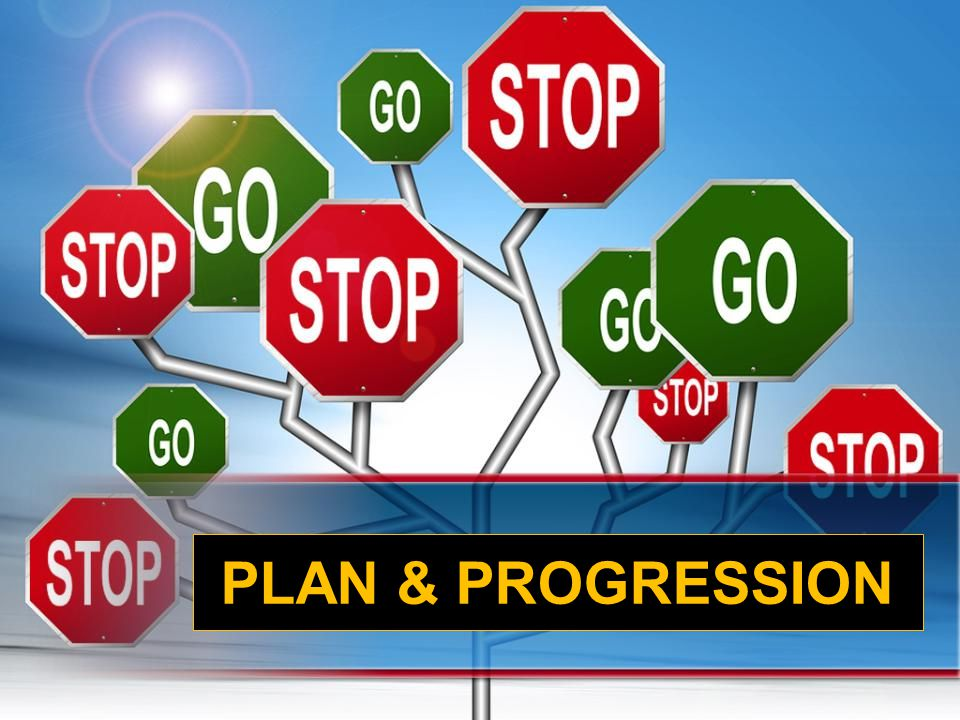 PLAN & PROGRESSION
