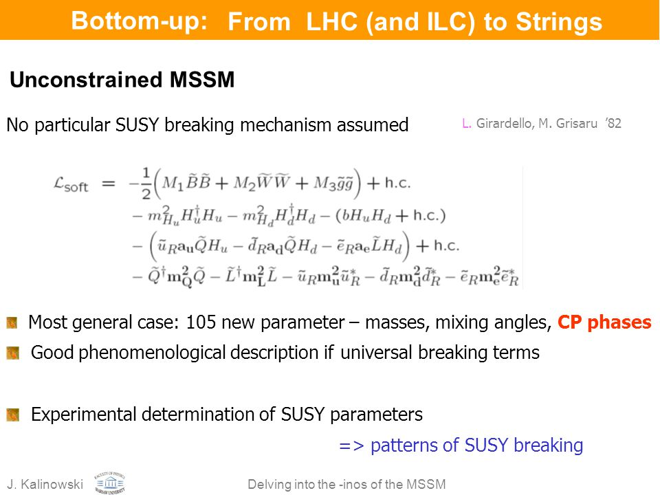 From LHC (and ILC) to Strings