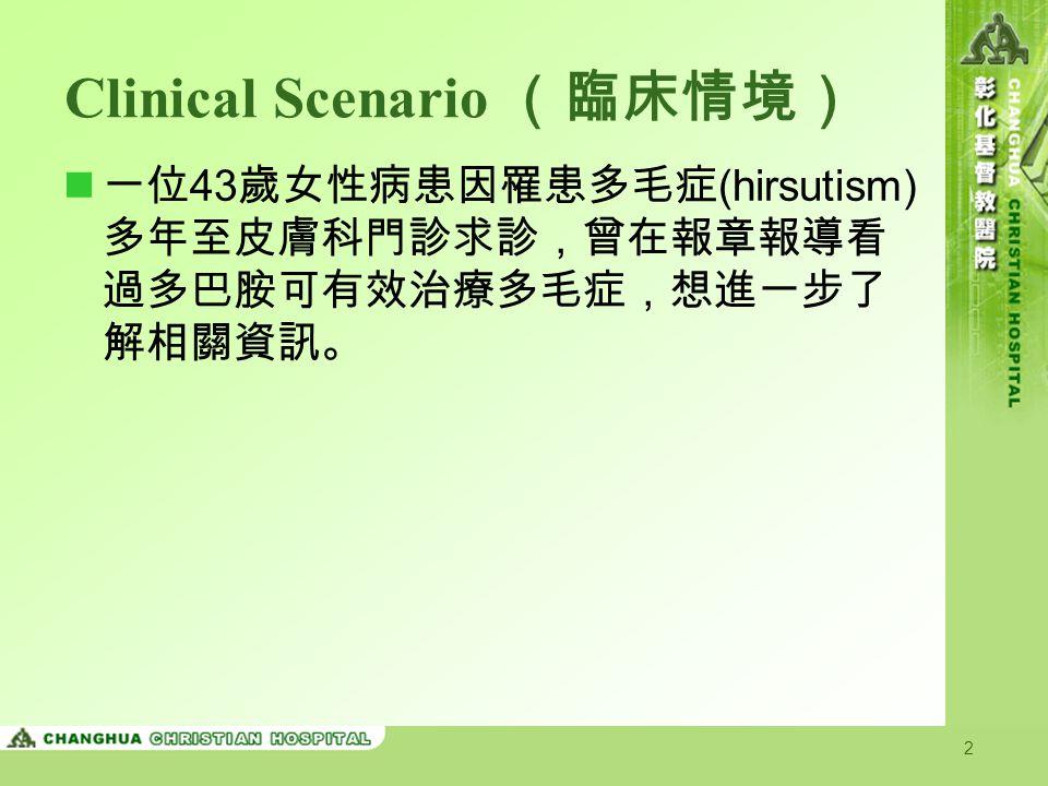 Clinical Scenario (臨床情境)