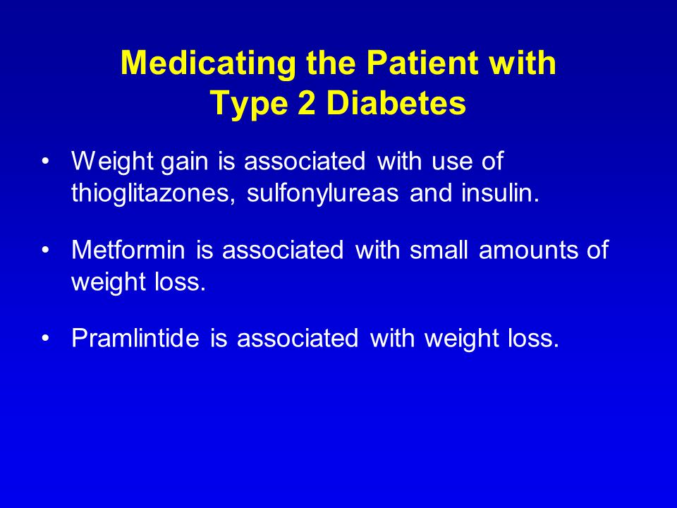 Medicating the Patient with Type 2 Diabetes