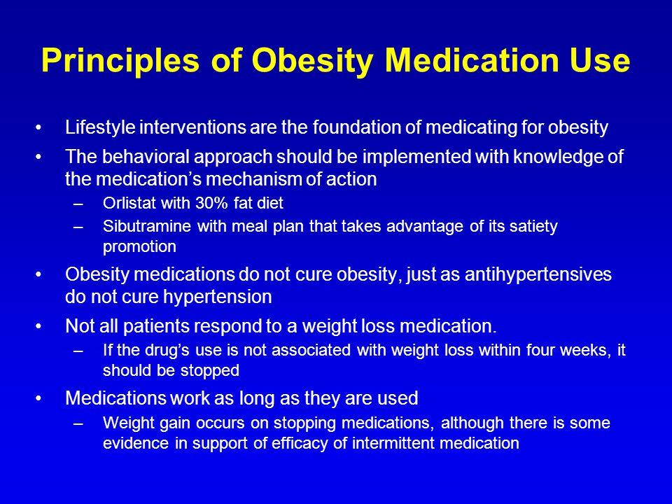 Principles of Obesity Medication Use