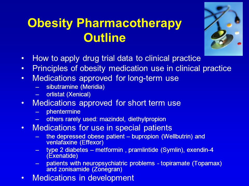 Obesity Pharmacotherapy Outline