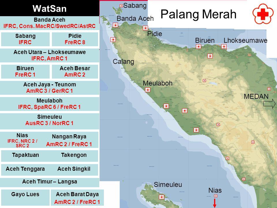 IFRC, Cons. MacRC/SwedRC/AstRC Aceh Utara – Lhokseumawe