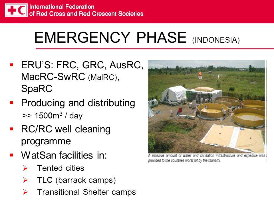 EMERGENCY PHASE (INDONESIA)