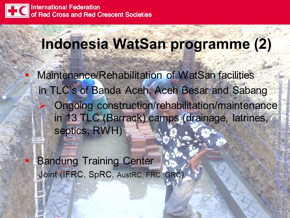 Indonesia WatSan programme (2)