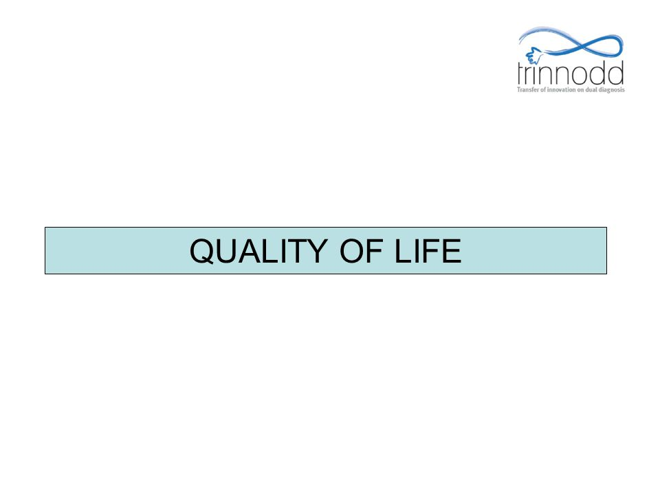 QUALITY OF LIFE FOR-PRO-004 Présentation v.01 – 05/01/2009 8