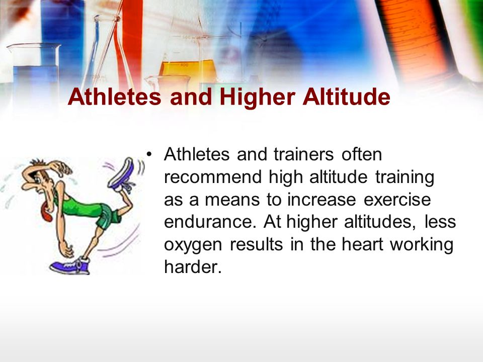 Athletes and Higher Altitude
