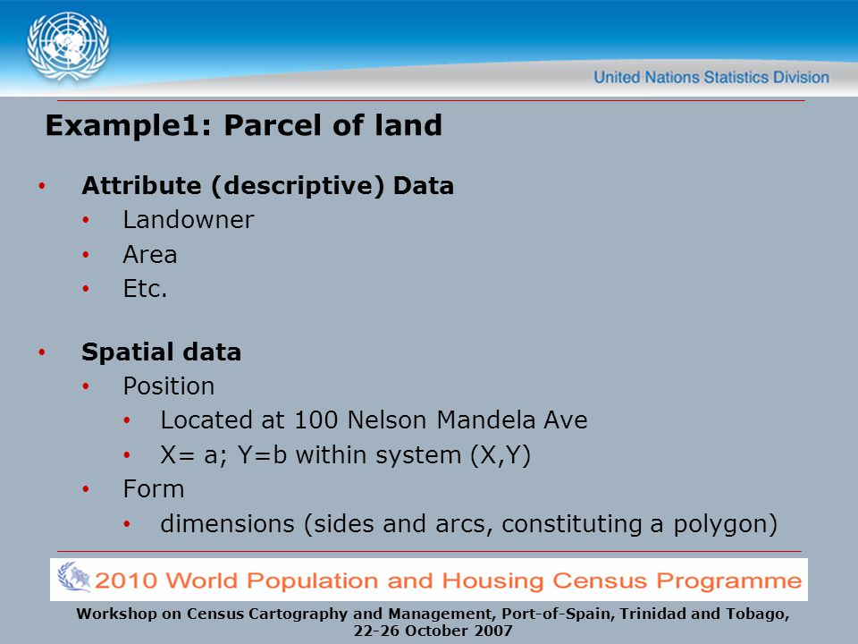 Example1: Parcel of land