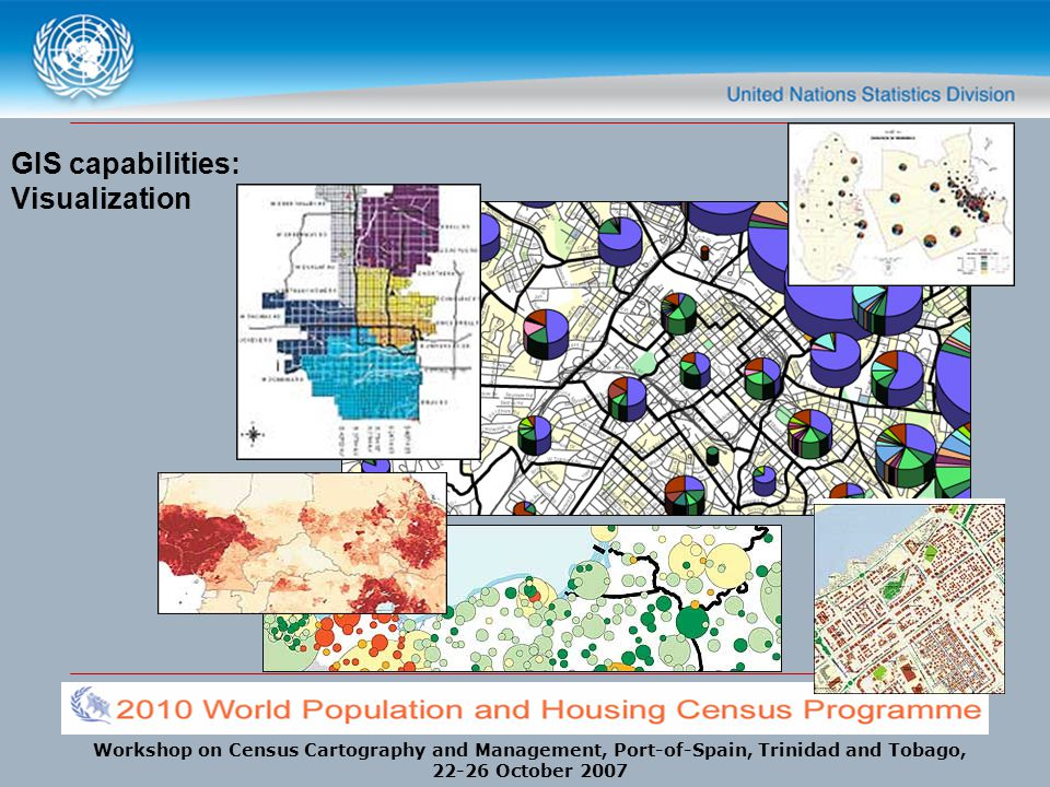 GIS capabilities: Visualization