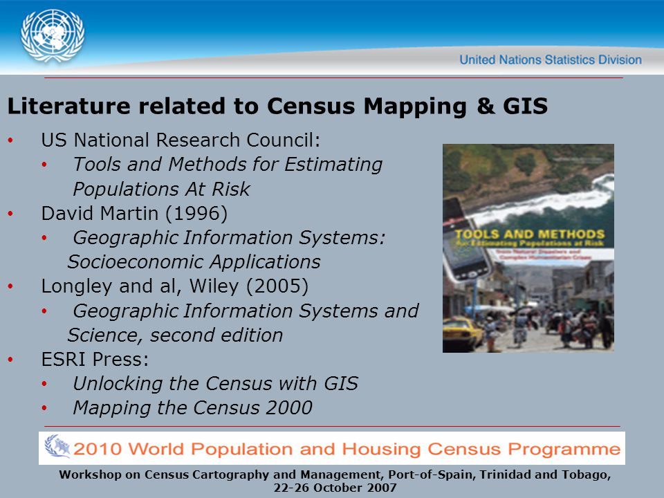 Literature related to Census Mapping & GIS