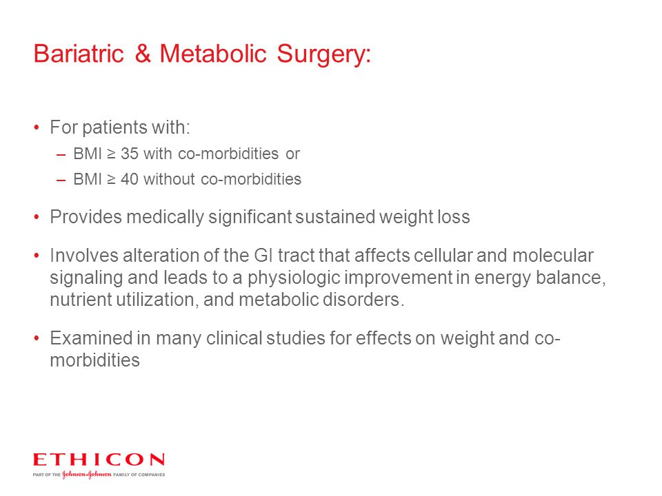 Bariatric & Metabolic Surgery: