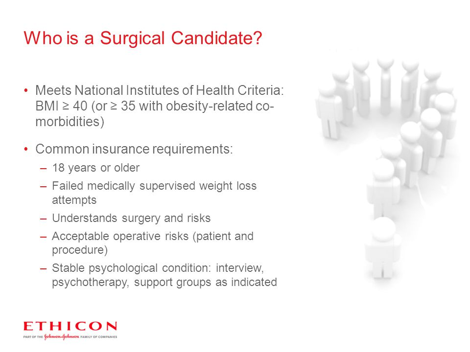 Who is a Surgical Candidate