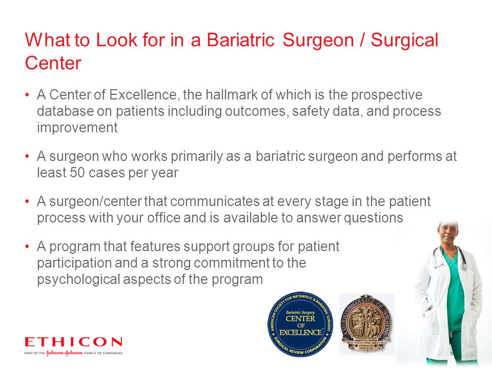 What to Look for in a Bariatric Surgeon / Surgical Center