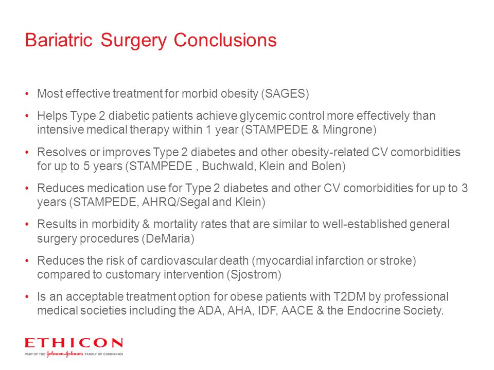 Bariatric Surgery Conclusions