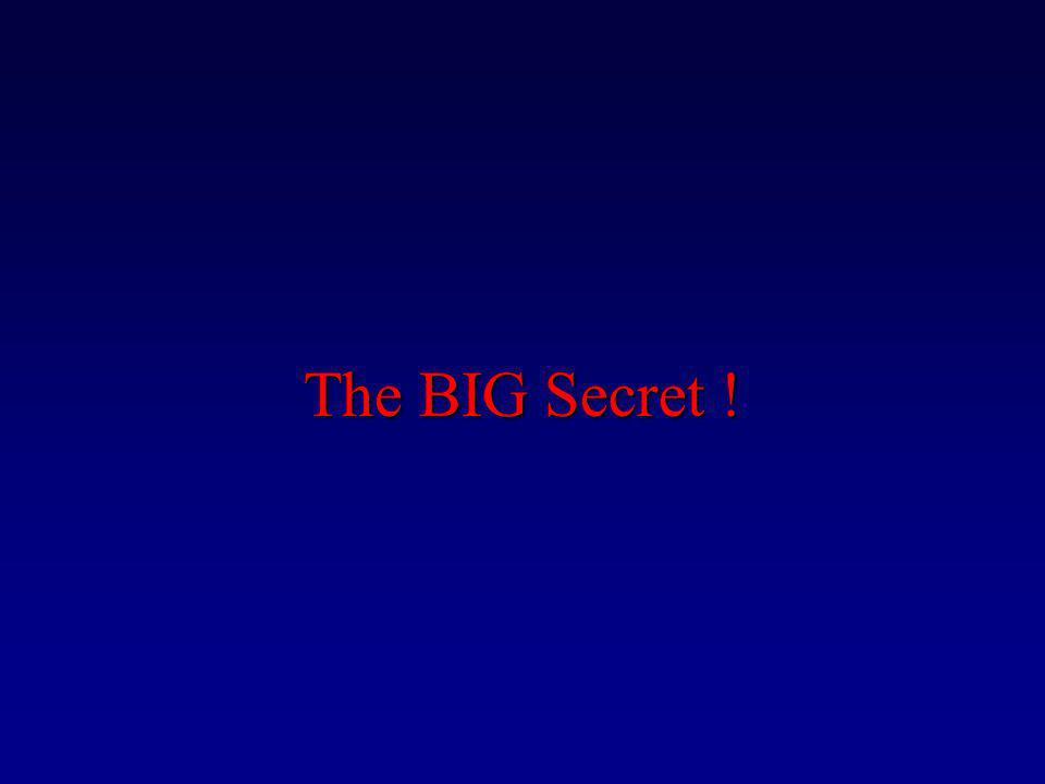 The BIG Secret !