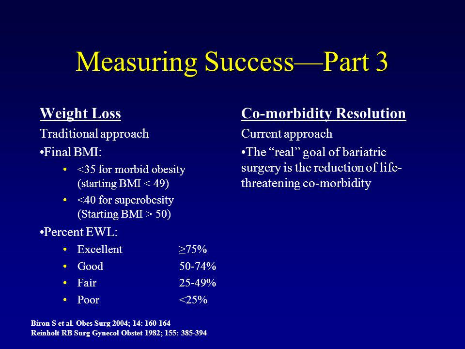 Measuring Success—Part 3