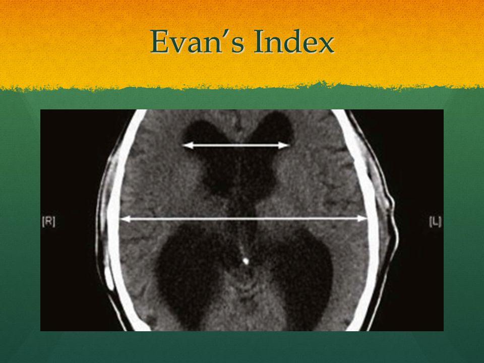 Evan's Index