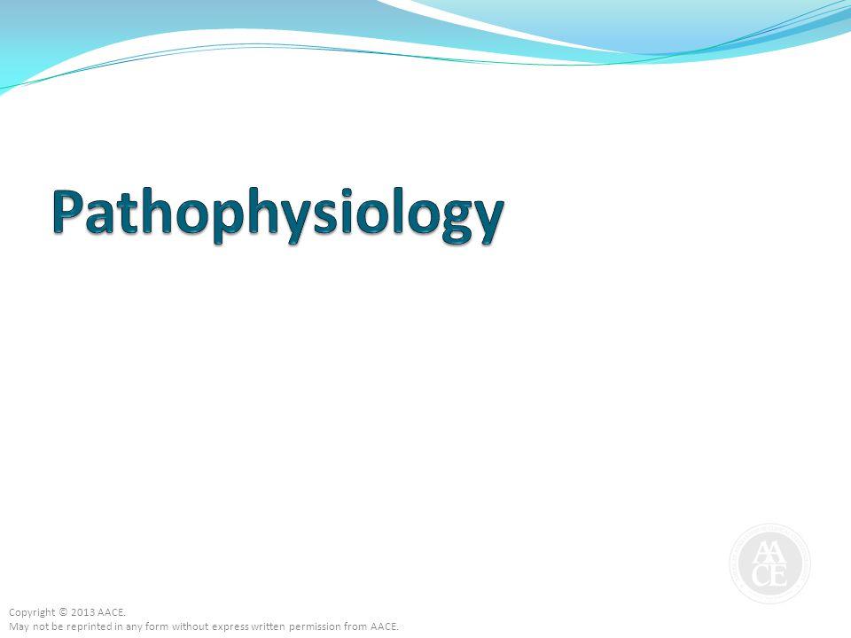 Pathophysiology Copyright © 2013 AACE.
