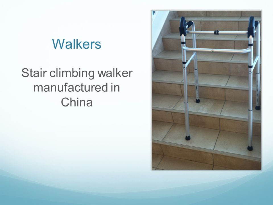 Stair climbing walker manufactured in China