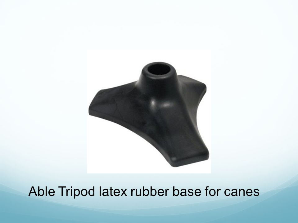 Able Tripod latex rubber base for canes