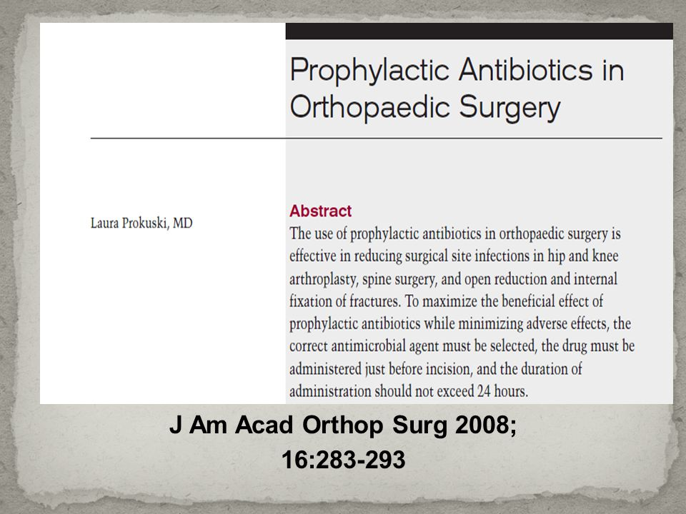 J Am Acad Orthop Surg 2008; 16:283-293