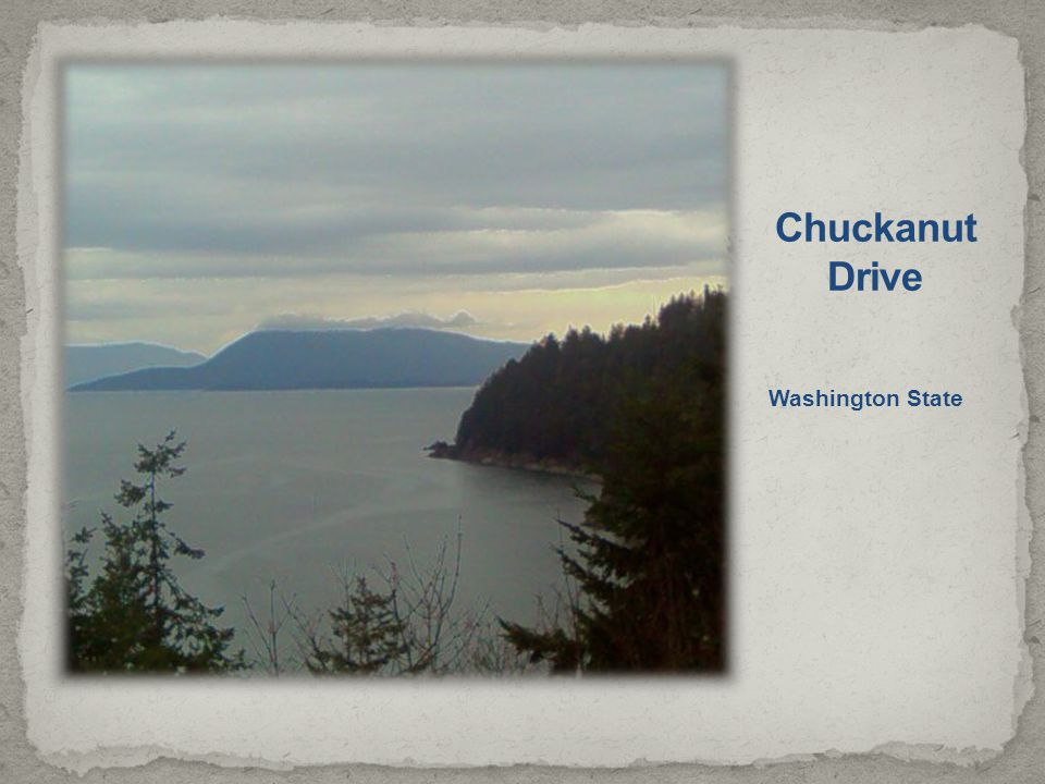 Chuckanut Drive Washington State