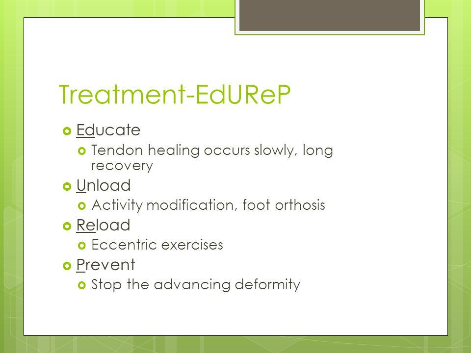 Treatment-EdUReP Educate Unload Reload Prevent