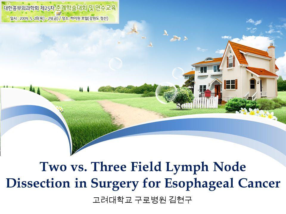 Two vs. Three Field Lymph Node