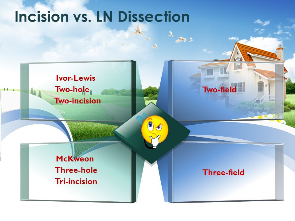 Incision vs. LN Dissection