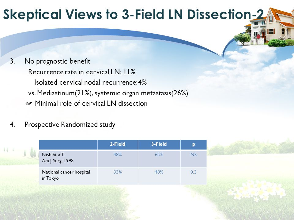 Skeptical Views to 3-Field LN Dissection-2