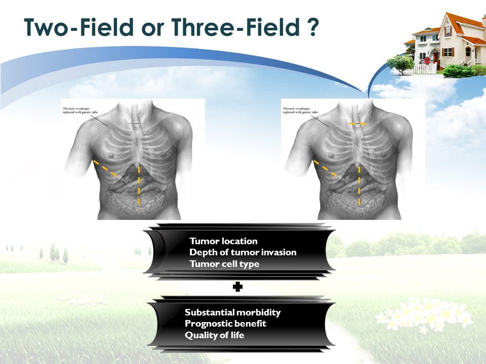 Two-Field or Three-Field