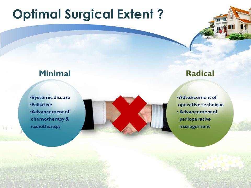Optimal Surgical Extent