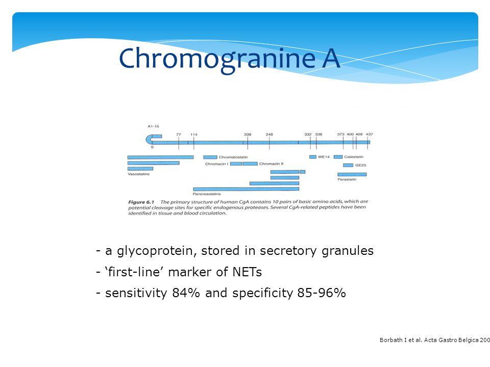 Chromogranine A Chromogranin A, CgA