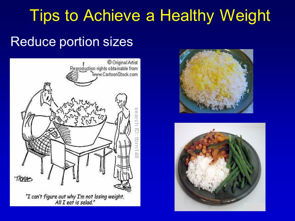 Tips to Achieve a Healthy Weight