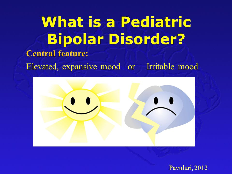 What is a Pediatric Bipolar Disorder
