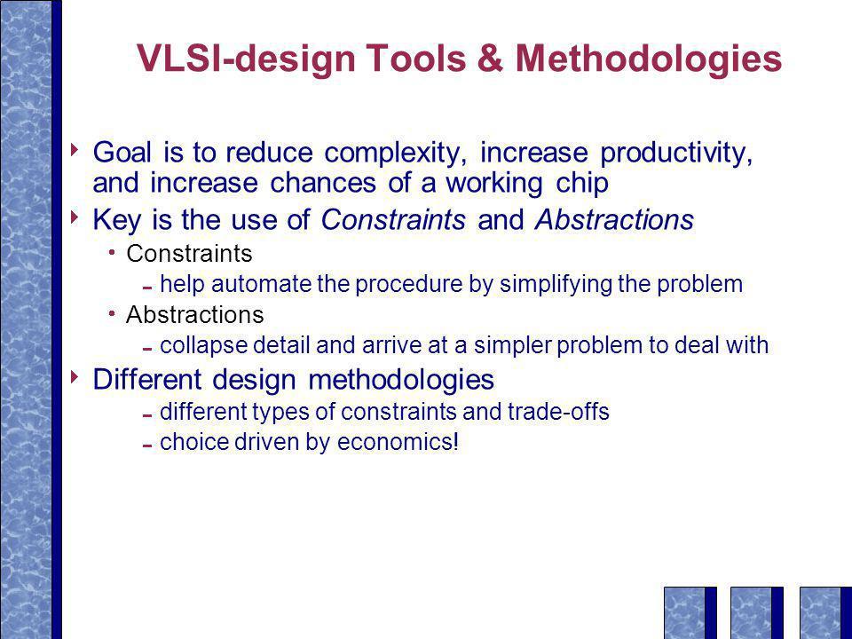 VLSI-design Tools & Methodologies