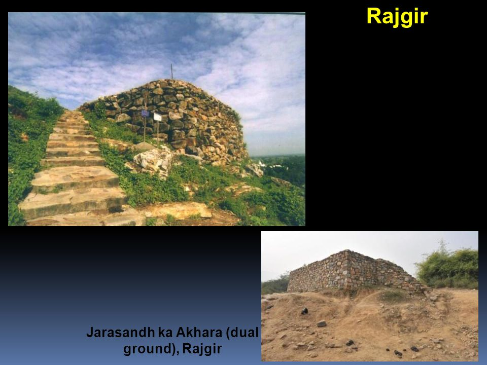 Jarasandh ka Akhara (dual ground), Rajgir