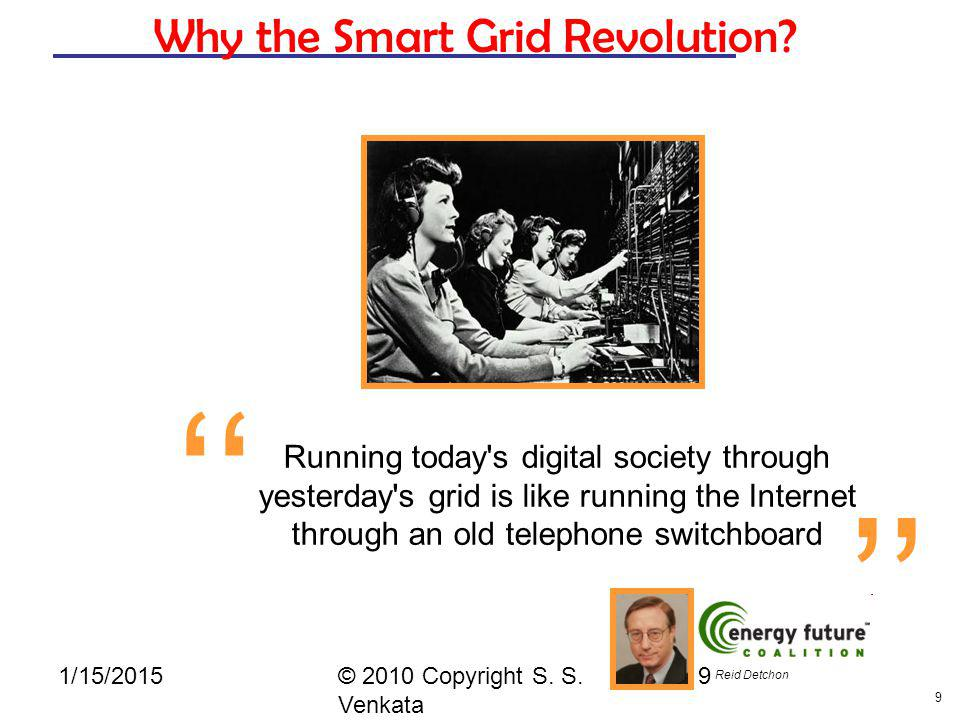 Why the Smart Grid Revolution