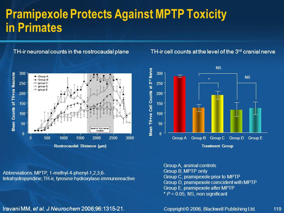 Pramipexole Protects Against MPTP Toxicity in Primates