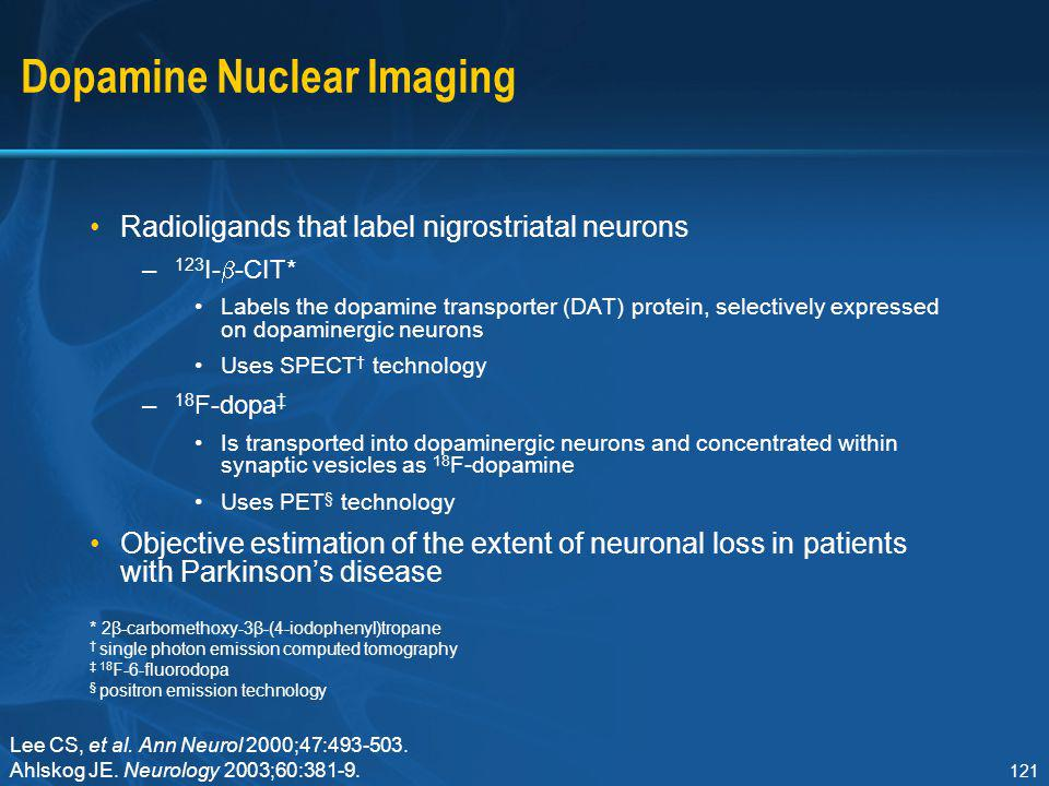 Dopamine Nuclear Imaging