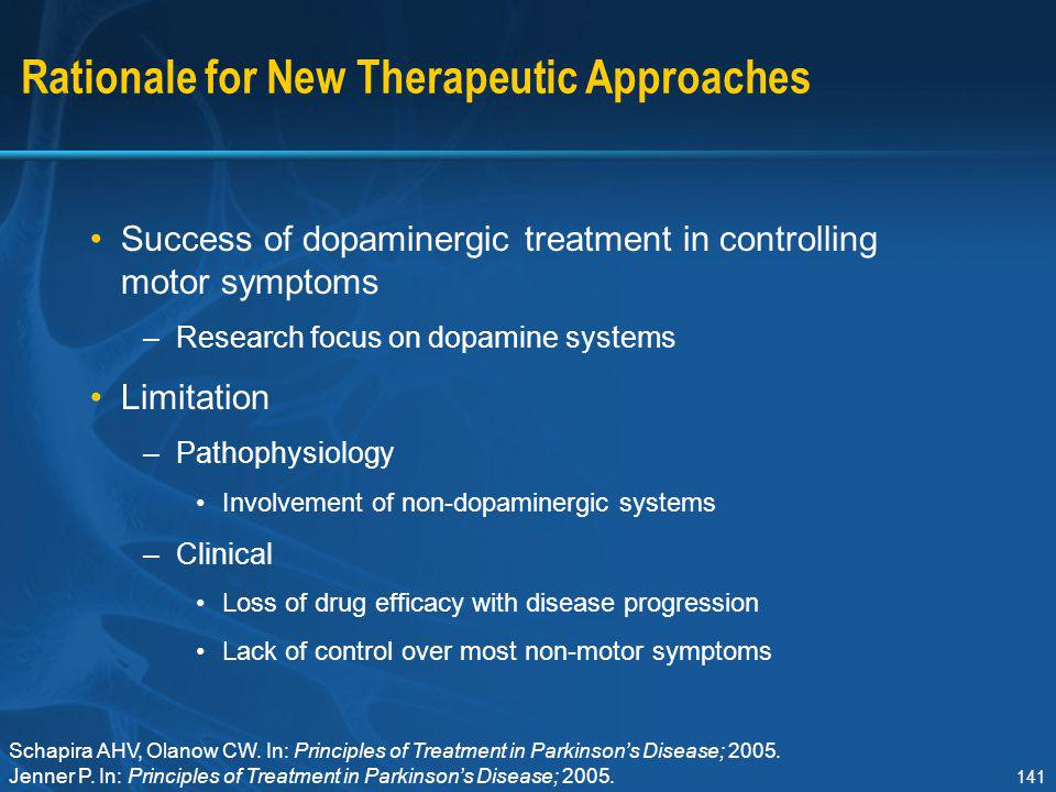 Rationale for New Therapeutic Approaches