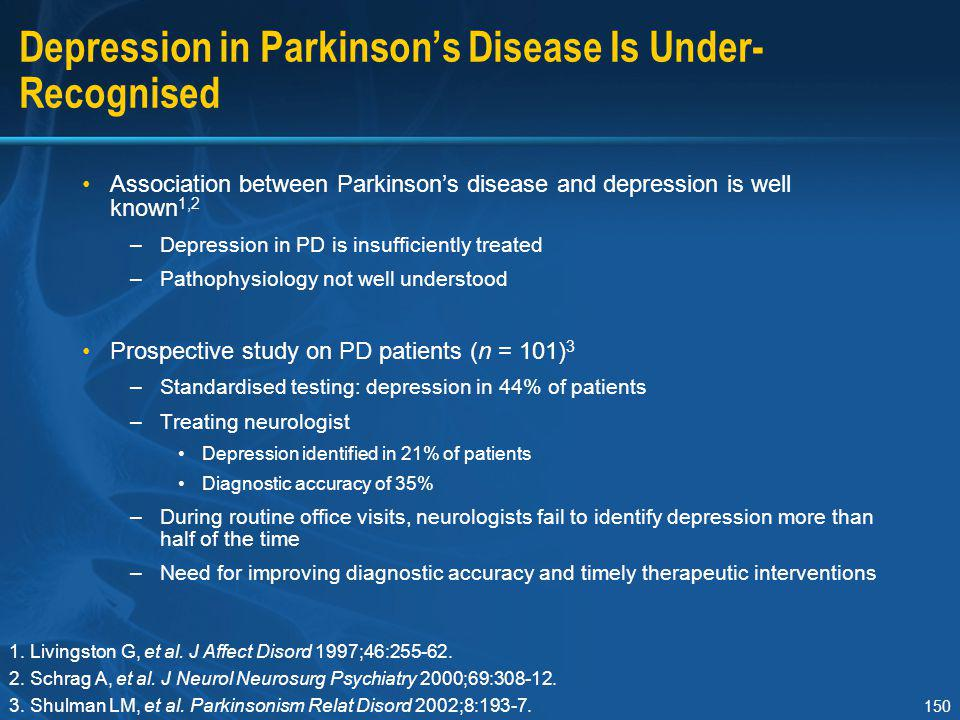 Depression in Parkinson's Disease Is Under-Recognised