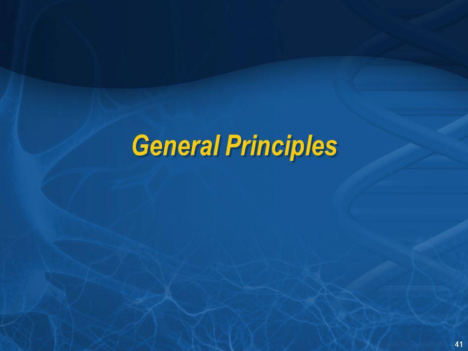 Section I General Principles