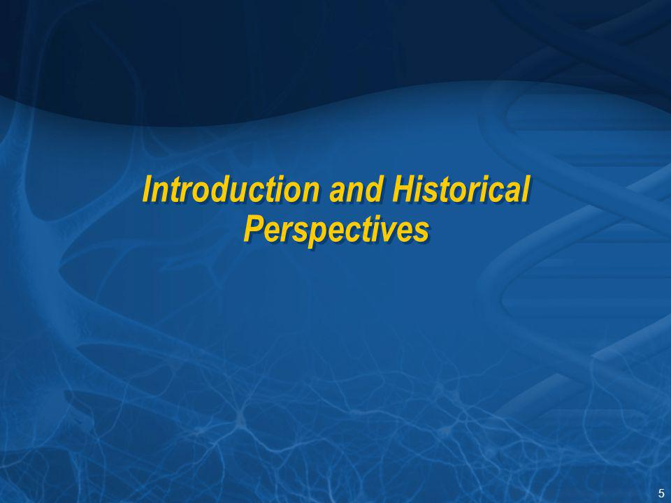 Introduction and Historical Perspectives
