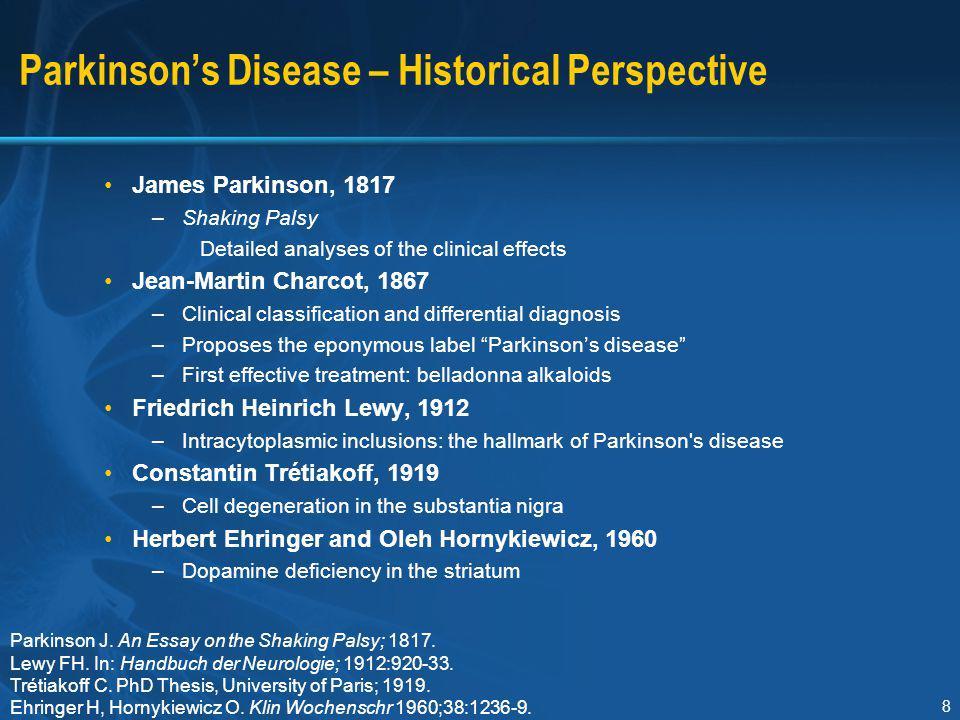 Parkinson's Disease – Historical Perspective