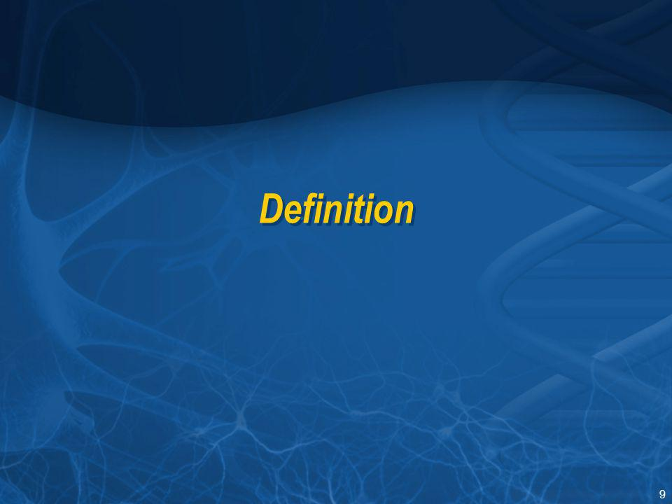 Section I Definition