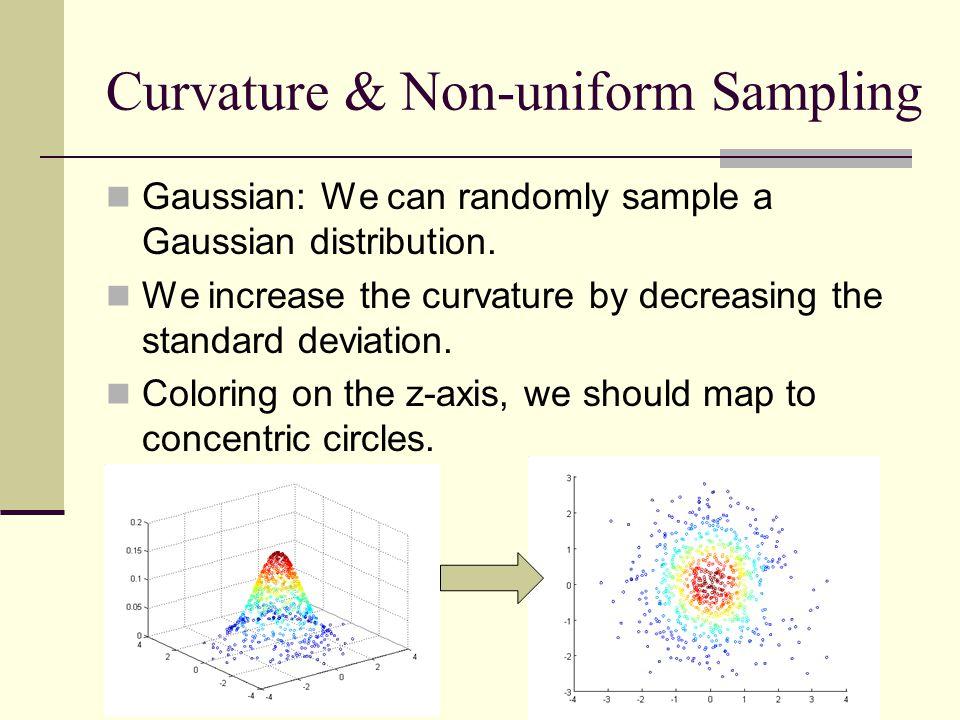 Curvature & Non-uniform Sampling