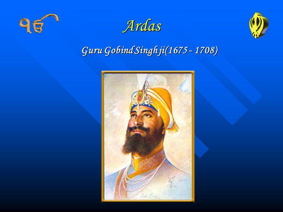Guru Gobind Singh ji(1675 - 1708)
